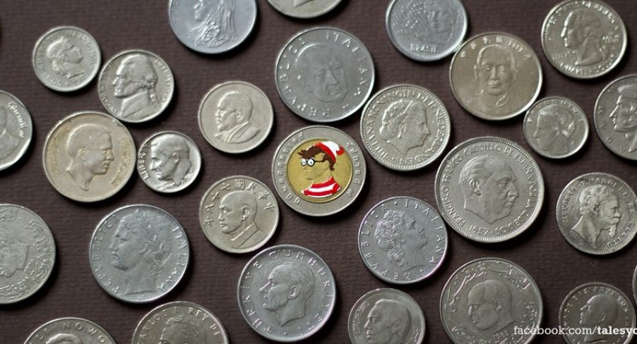 Featured Image Artist Paints Pop Culture Coins