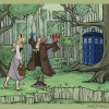 Featured Image Disney Heroines as Dr Who Companions
