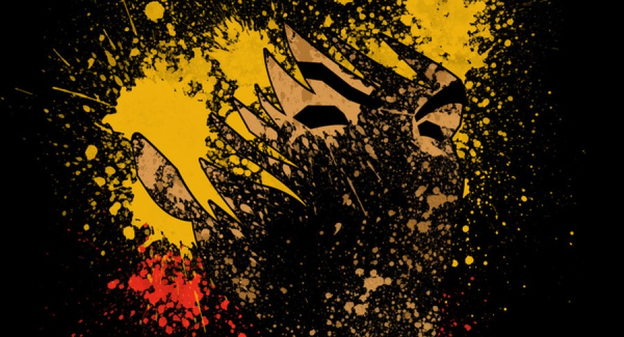 Featured Image Street Fighter Paint Splatter Art