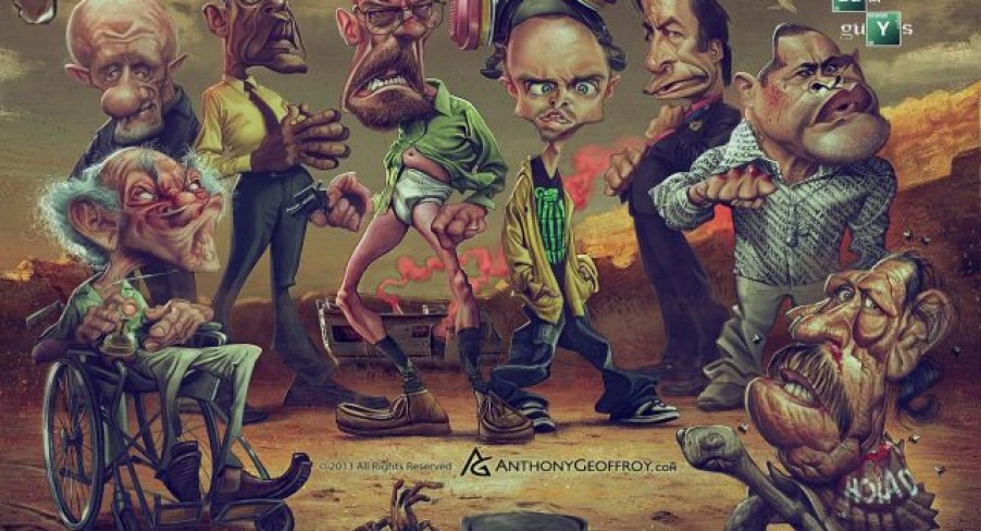 Featured Image Breaking Bad Caricatures
