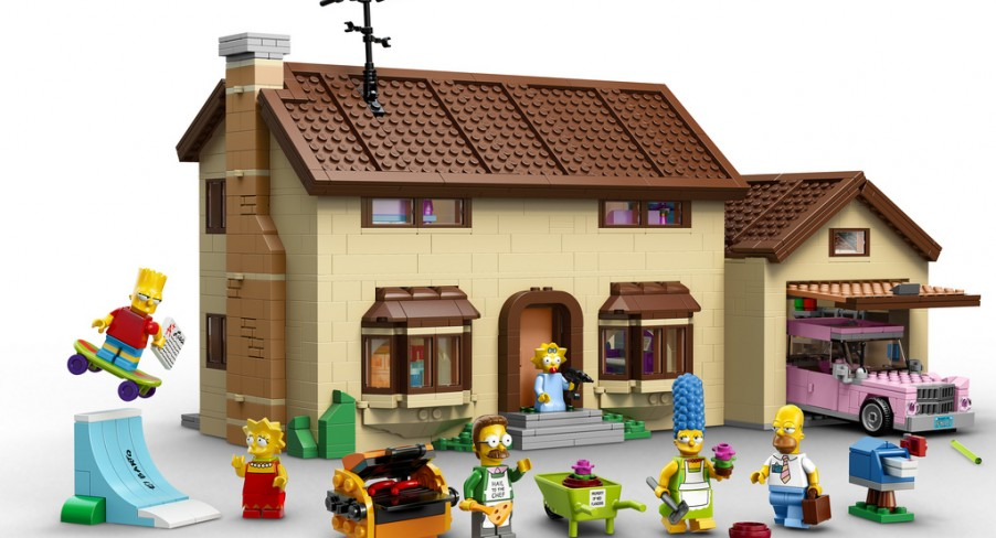 Featured Image LEGO Unveils 'The Simpsons' Sets