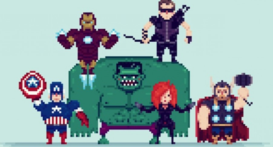 Featured Image 8-bit Cinema: The Avengers