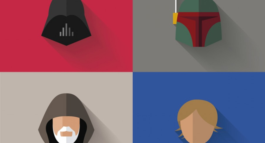 Featured Image Star Wars Minimalist Flat Icons