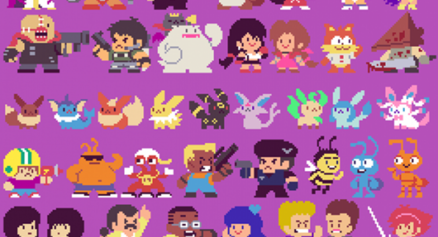 Featured Image 300 Pixel-Art Pop Culture Characters