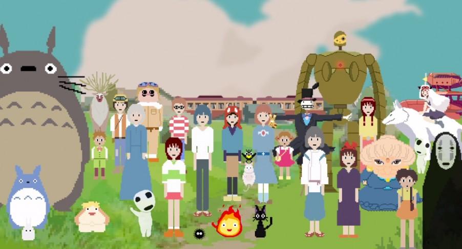 Featured Image Hayao Miyazaki 8-Bit Tribute