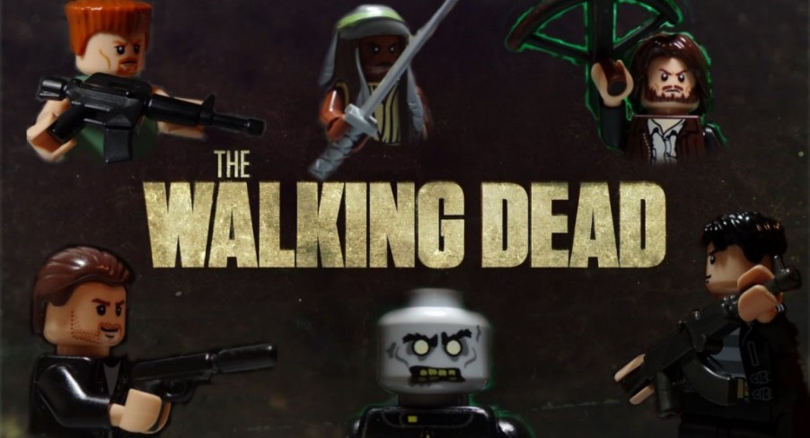 Featured Image LEGO The Walking Dead Season Five Trailer