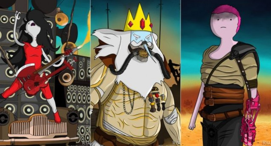 Featured Image Adventure Time/Mad Max Mashup